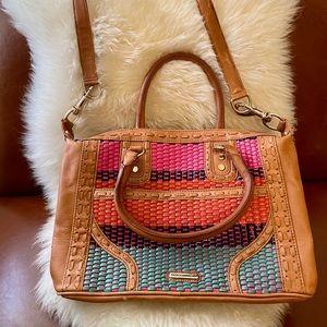 Rebecca Minkoff Multicolor MAB Woven Leather Bag